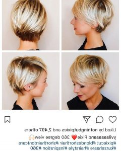 Piecey Pixie Haircuts For Asian Women