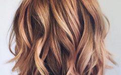Medium Haircuts with Subtle Balayage