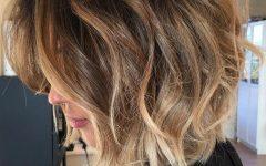 Balayage Highlights for Long Bob Hairstyles