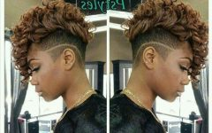Shaved Sides Mohawk Hairstyles