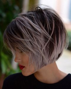Bob Hairstyles With Contrasting Highlights
