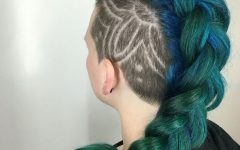 Braided Mermaid Mohawk Hairstyles