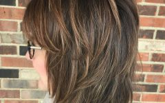 Classic Chin-length Shag Haircuts