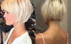 Posh Bob Blonde Hairstyles