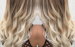 Grown Out Platinum Ombre Blonde Hairstyles