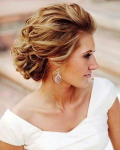 Classic Wedding Hairstyles For Medium Length Hair
