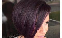 Color Highlights Short Hairstyles for Round Face Types