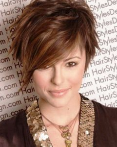 Funky Medium Haircuts For Round Faces