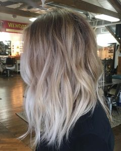 Grown Out Balayage Blonde Hairstyles