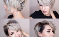 Pixie-bob Haircuts with Temple Undercut
