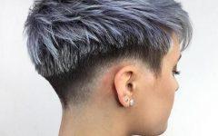Choppy Pixie Fade Haircuts