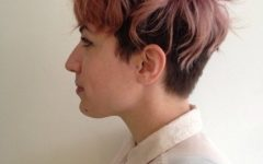 Tousled Pixie With Undercut