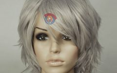 Medium Haircuts for Women with Grey Hair