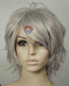Medium Haircuts for Women with Grey Hair