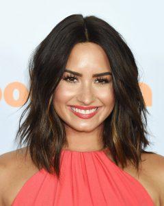 Demi Lovato Medium Haircuts