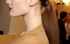 Futuristic and Flirty Ponytail Hairstyles