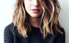 Messy Medium Haircuts For Women