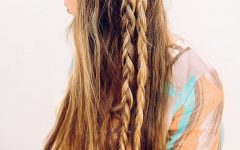 Long Braided Flowing Hairstyles