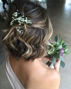 Wedding Dinner Hairstyle For Short Hair