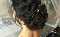 Wedding Hairstyles for Dark Hair