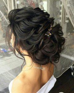 Wedding Hairstyles For Dark Hair