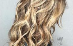 Straight Sandy Blonde Layers