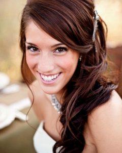 Wedding Hairstyles Long Side Ponytail Hair