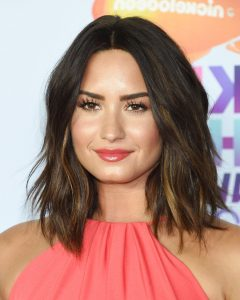 Demi Lovato Medium Hairstyles