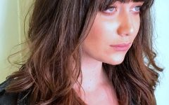 Short Bangs Hairstyles for Round Face Types