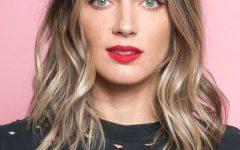 Glamorous Mid-length Blonde Bombshell