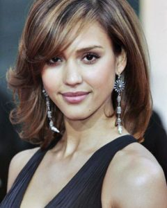 Medium Hairstyles for Long Faces and Fine Hair