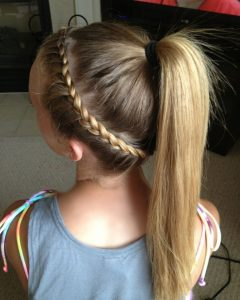 Fantastical French Braid Ponytail Hairstyles
