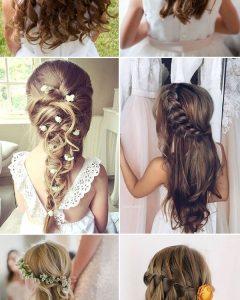 Wedding Hair For Young Bridesmaids