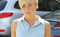 Julianne Hough Pixie Haircuts