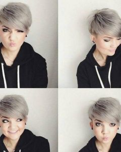 Pixie Haircuts For Round Face Shape
