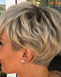 Razored Haircuts With Precise Nape And Sideburns