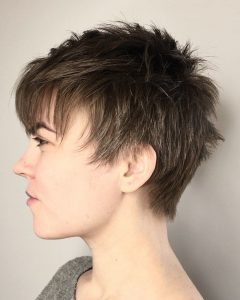 Androgynous Pixie Haircuts