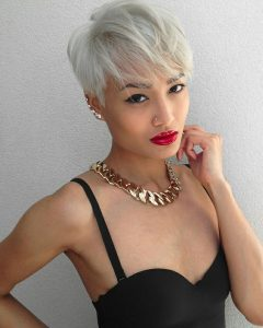 Messy Pixie Asian Hairstyles