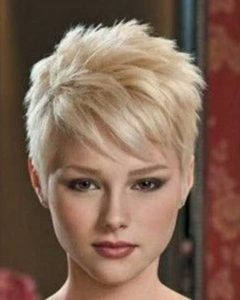Finely Chopped Pixie Haircuts for Thin Hair