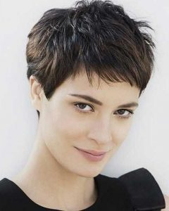 Pixie Haircuts For Dark Hair