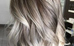 Blonde Hairstyles with Platinum Babylights