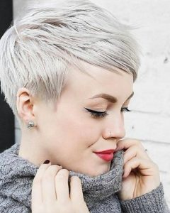 Platinum Pixie Hairstyles