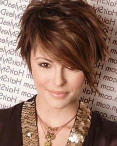 Short Funky Hairstyles For Over 40