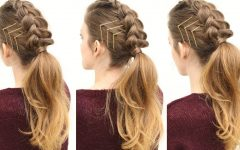 Triple Braid Ponytail Hairstyles