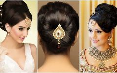 Indian Bun Wedding Hairstyles