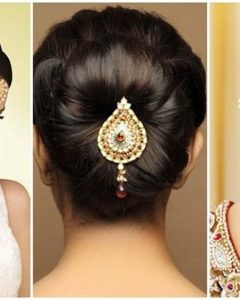 Related About Indian Wedding Bun Hairstyles With Flowers