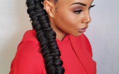 Ponytail Fishtail Braided Hairstyles