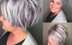 Shaggy Grey Hairstyles