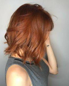 Auburn Medium Haircuts