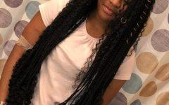 Boho Rose Braids Hairstyles